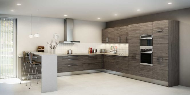 notre s lection des plus belles cuisines en l cuisine en l par hygena. Black Bedroom Furniture Sets. Home Design Ideas