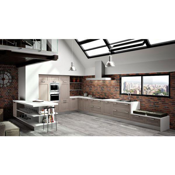 cuisine en l par sagne cuisines. Black Bedroom Furniture Sets. Home Design Ideas
