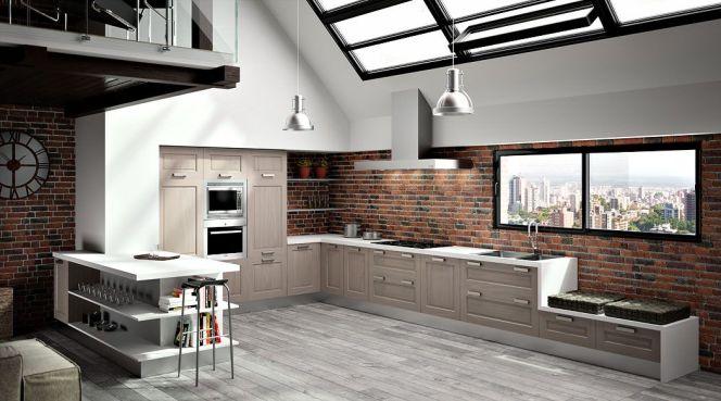 notre s lection des plus belles cuisines en l cuisine en l par sagne cuisines. Black Bedroom Furniture Sets. Home Design Ideas