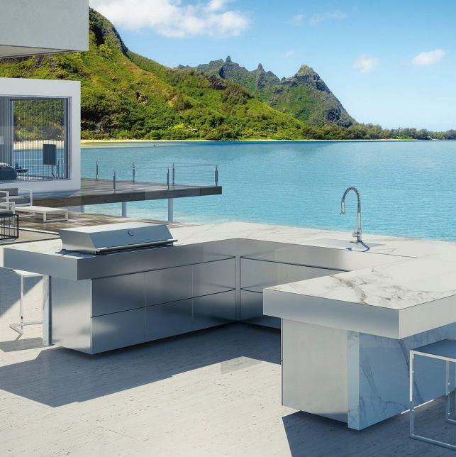 Luxueuse et contemporaine, la cuisine FESFOC allie design et qualité professionnelle