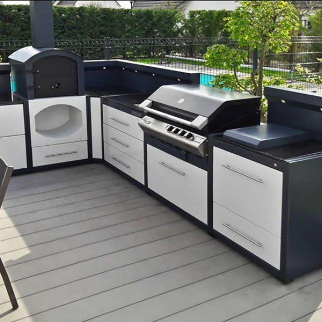 Les cuisines d'été Garden Piano apporteront de la couleur à votre terrasse
