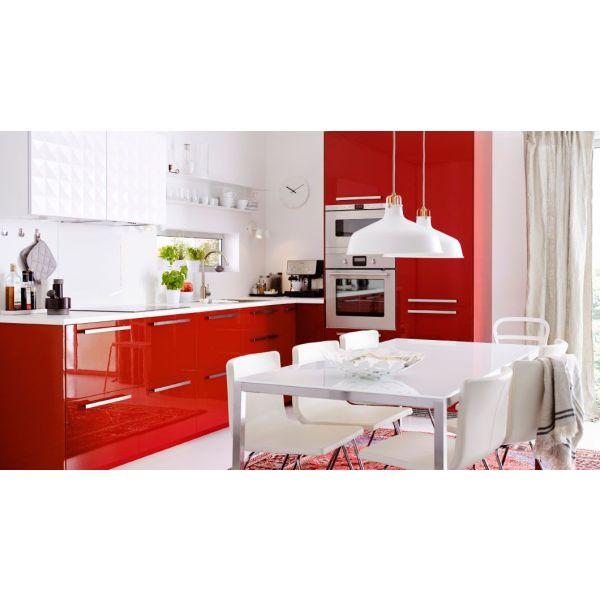 Cuisine Laquee Blanc Ikea : Cuisine laquée par ikea