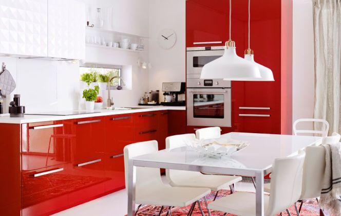Cuisine laquée par Ikea © Ikea