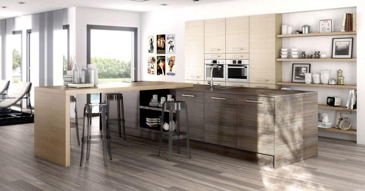 cuisine ouverte eg rie par arthur bonnet. Black Bedroom Furniture Sets. Home Design Ideas