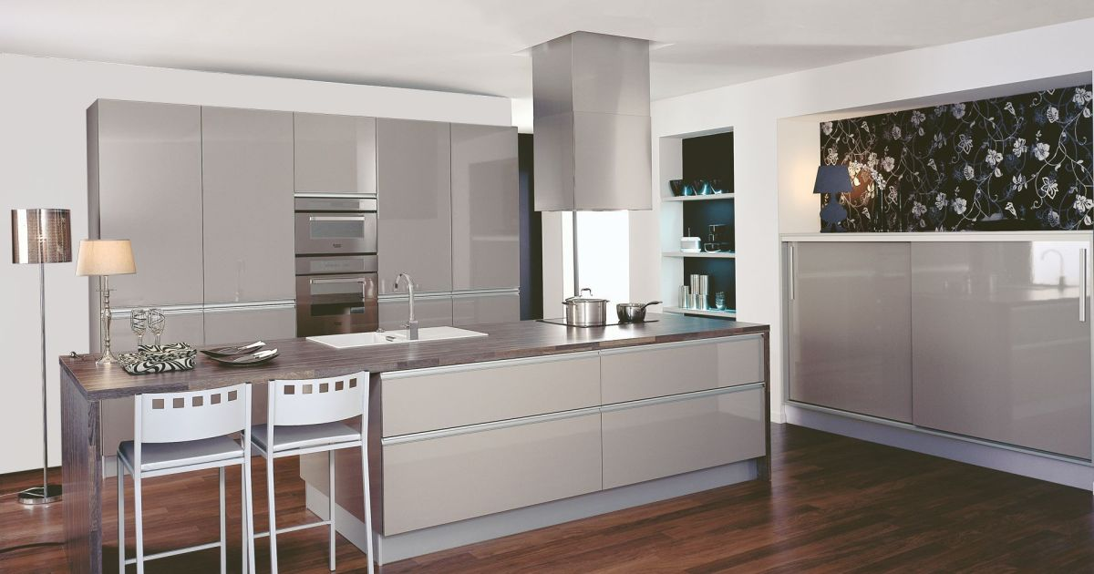 Cuisine star par cuisinella for Amenagement ilot central cuisine