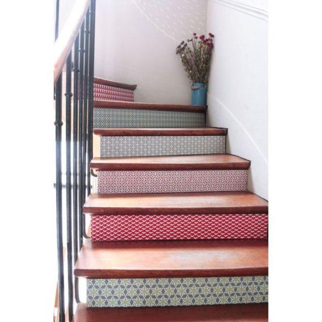 les contremarches d\'un escalier