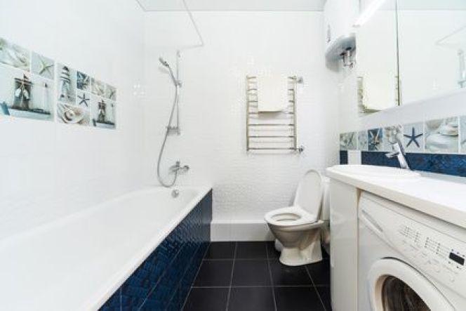 D corer les murs d une salle de bains - Decorer une salle de bain ...