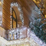 Décorer un balcon pour Noël
