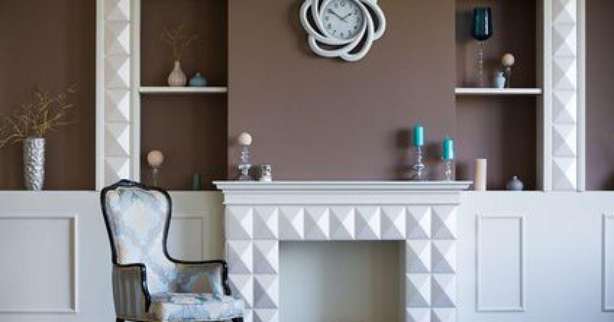 d corer une chemin e. Black Bedroom Furniture Sets. Home Design Ideas