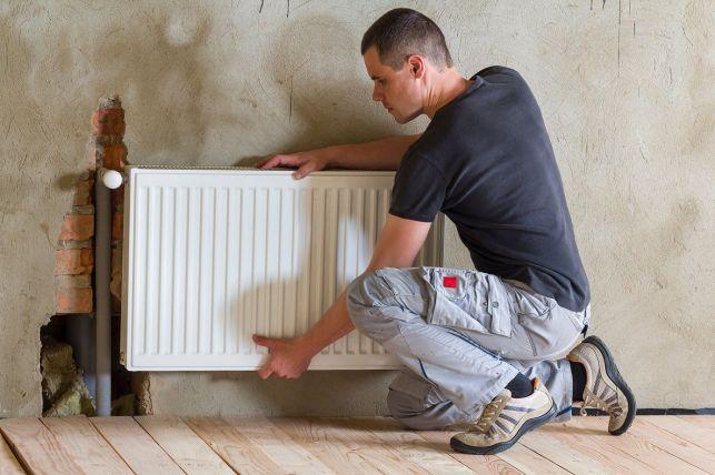 Décrocher un radiateur du mur