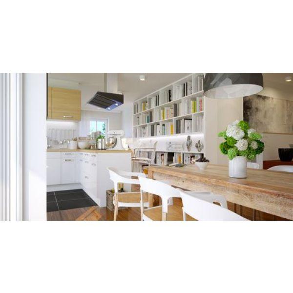 D limiter une cuisine ouverte sur le salon for Separer une cuisine ouverte