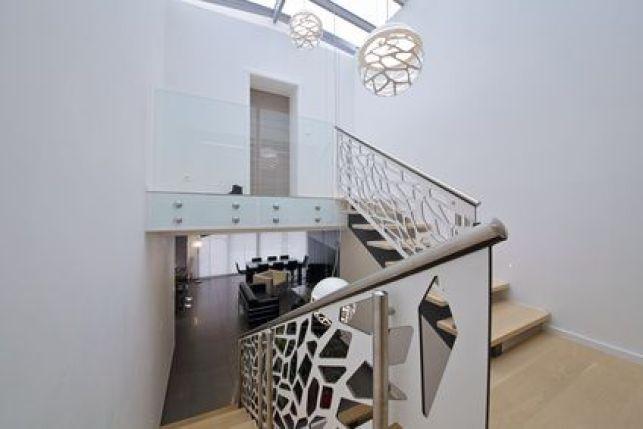 Des idées déco pour une cage d'escalier