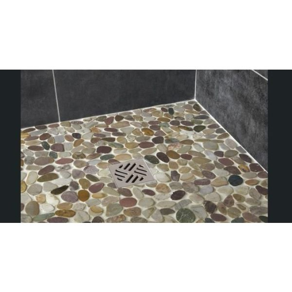 Carrelage galet leroy merlin good carrelage mosaique for Galet douche leroy merlin
