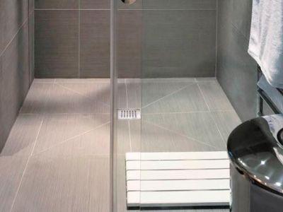 Les revêtements pour une douche à l'italienne