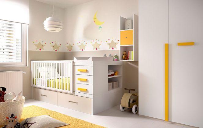Du beige, jaune et blanc pour cette belle petite chambre.  © Secretdechambre