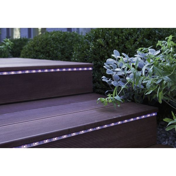 Eclairage led ext rieur par leroy merlin for Eclairage terrasse led