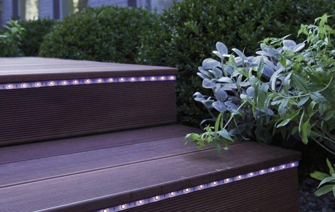 Eclairage LED extérieur par Leroy Merlin © Leroy Merlin