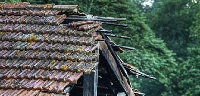 effondrement d une toiture que faire. Black Bedroom Furniture Sets. Home Design Ideas