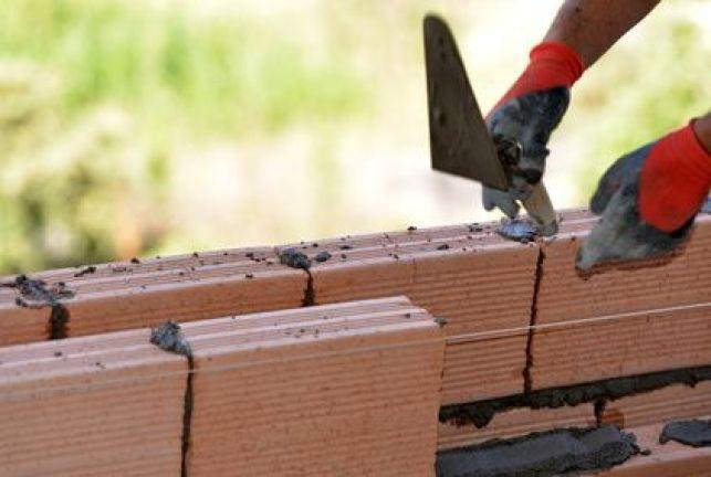 Elévation des murs d'une maison