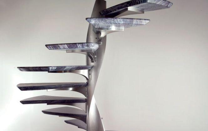 Cet escalier au design exceptionnel rendra votre pièce unique ! © Marretti