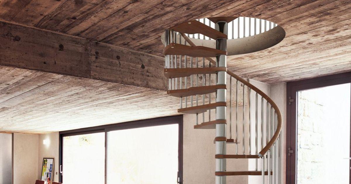 Escalier en colima on par fontanot - Escalier helicoidal lapeyre ...