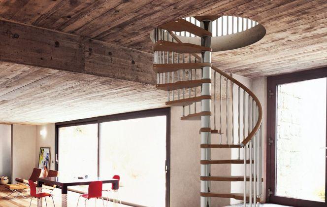 Escalier en colimaçon par Fontanot © Fontanot