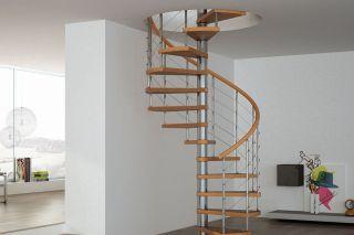 Tuto escalier en colimaçon : quel espace, comment le monter ?