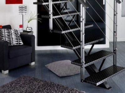 L'escalier métallique