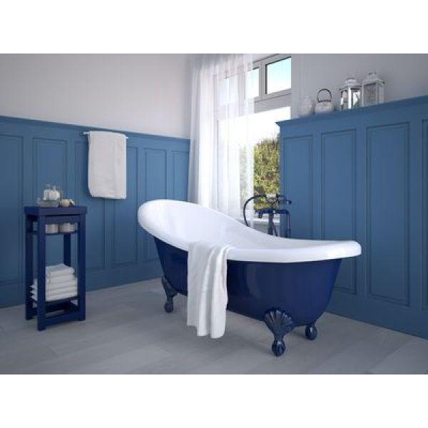 est ce possible de poser du papier peint dans une salle de bains. Black Bedroom Furniture Sets. Home Design Ideas