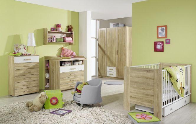 Et pourquoi pas du vert pour la chambre d'un bébé ? © Matelpro