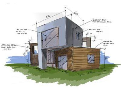 Faire appel à un dessinateur pour effectuer les plans d'une maison