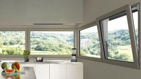 Fenêtre à soufflet sur-mesure Leroy Merlin