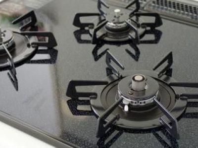 Fonctionnement d'une gazinière de cuisine