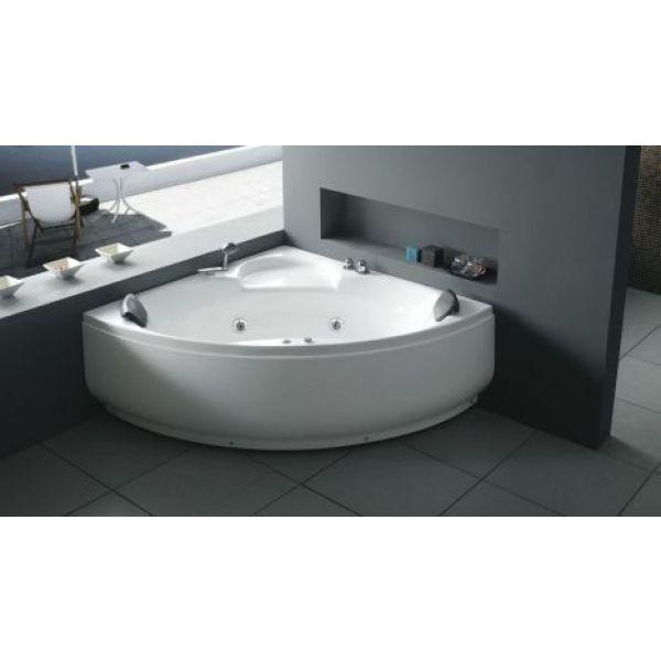 Toutes les formes de baignoires baignoire d 39 angle en for Baignoire ilot angle