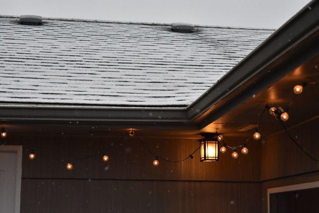 Gouttière et fortes chutes de neige