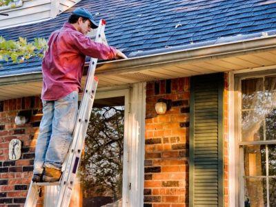 Gouttières rouillées et problème de corrosion