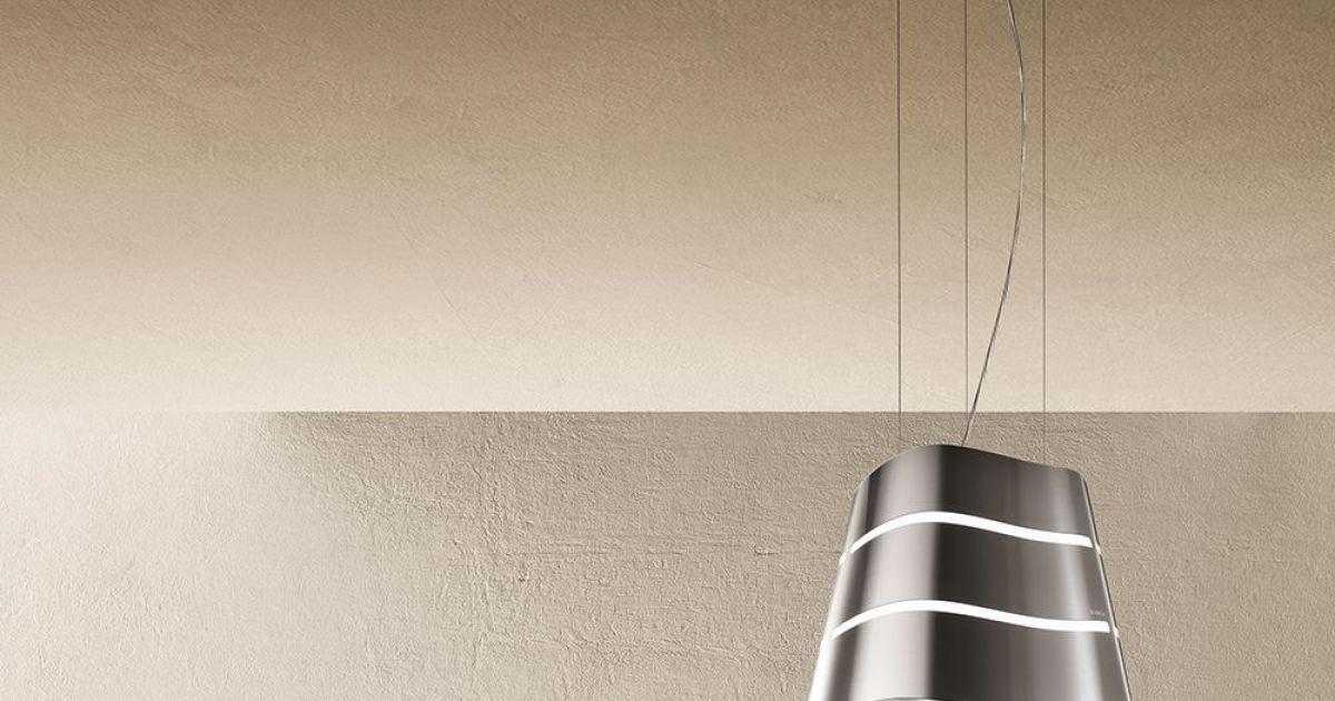 hotte suspendue par elica. Black Bedroom Furniture Sets. Home Design Ideas