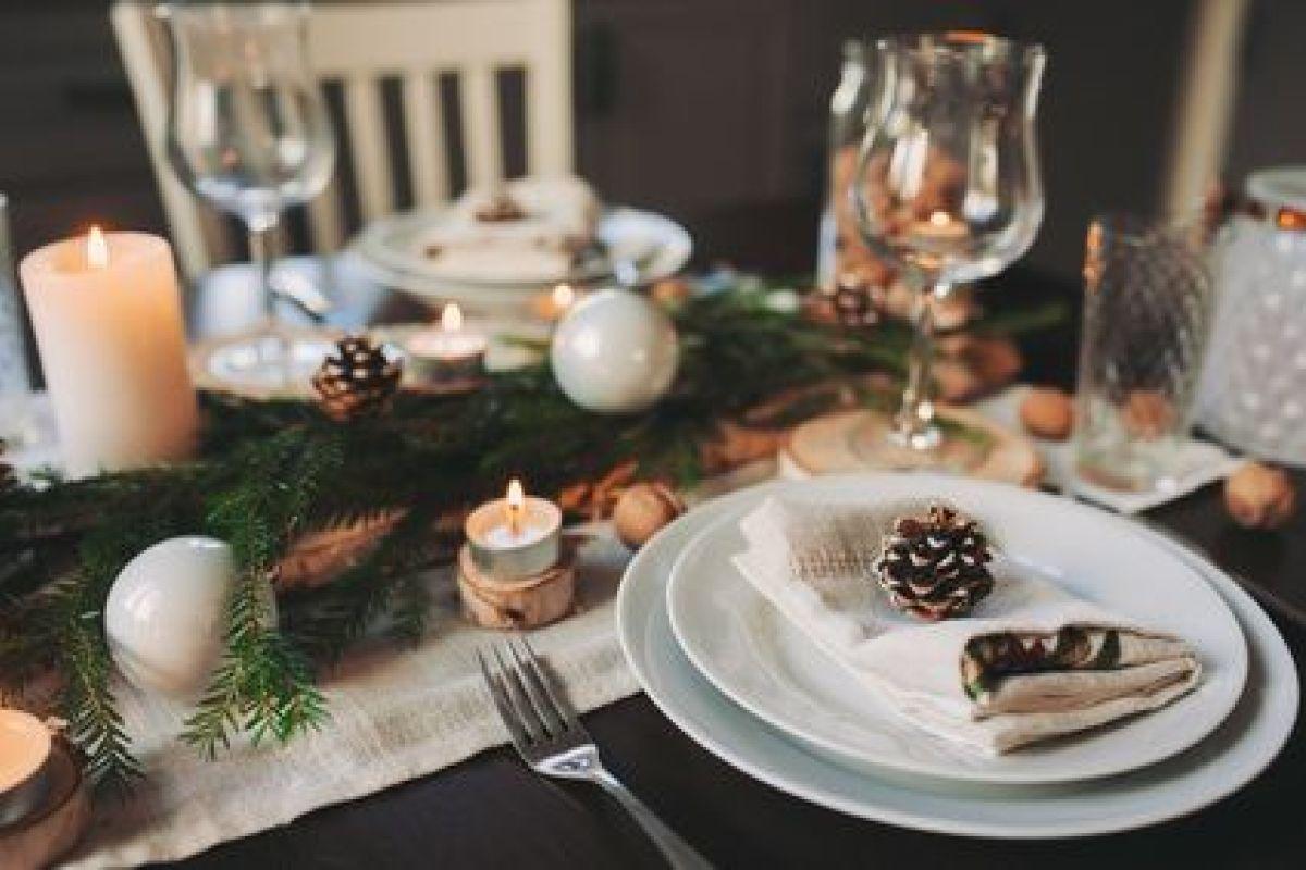 Idees Deco De Table Pour Le Nouvel An