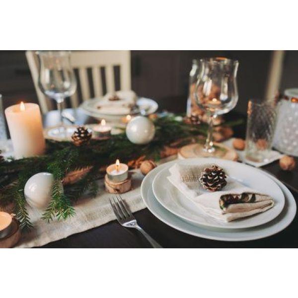 Id es d co de table pour le nouvel an - Decoration de table idees ...