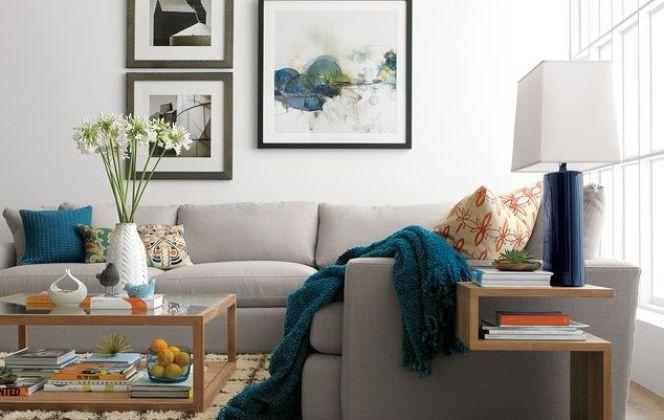 Idées déco pour votre salon © Crate & Barrel