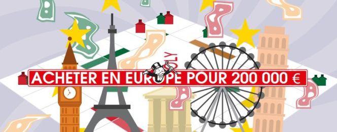 Immobilier en Europe : que pouvez-vous acheter avec  200 000€