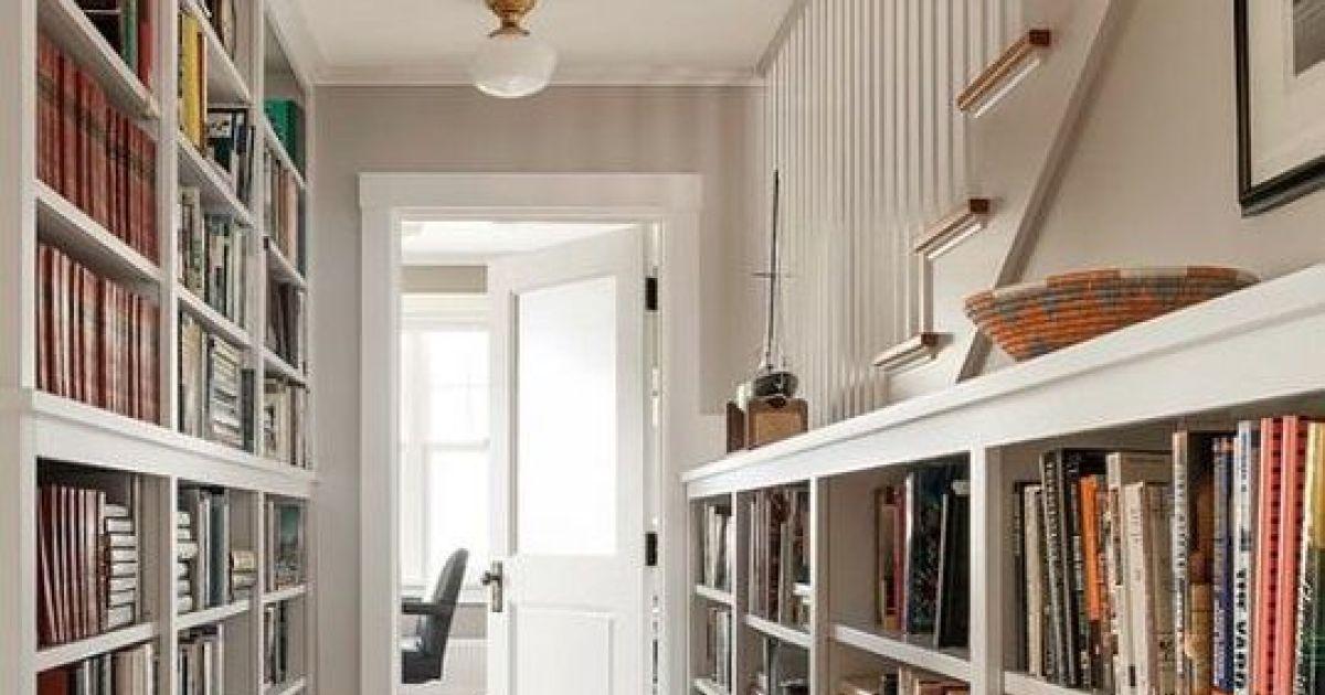 Installer des espaces de rangement dans un couloir - Tour de rangement salle de bain ...