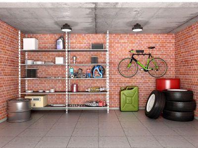 Installer des étagères dans un garage
