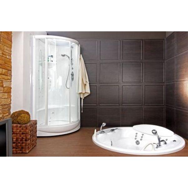 installer un sauna dans une salle de bain. Black Bedroom Furniture Sets. Home Design Ideas
