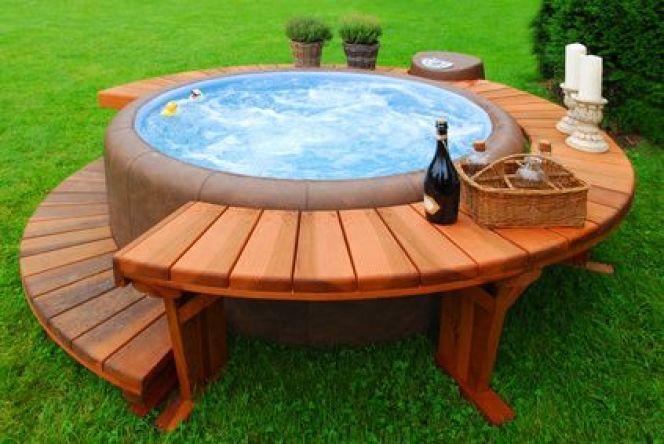 Installer un spa d'extérieur dans son jardin