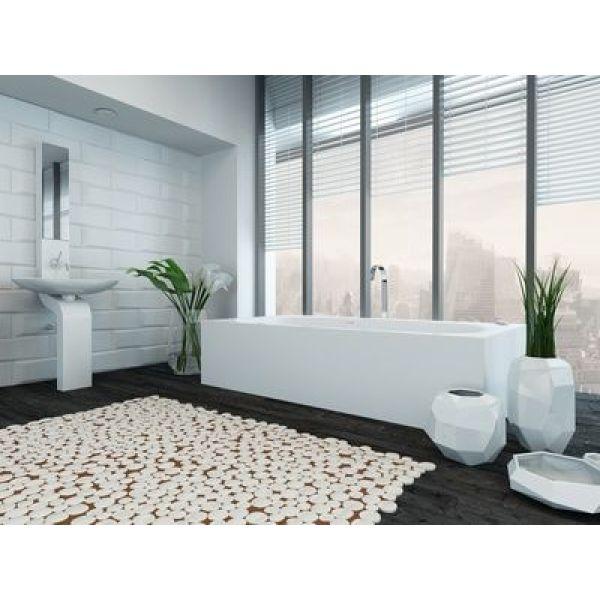 Installer une verri re dans la salle de bains - Monter une cloison dans une salle de bain ...