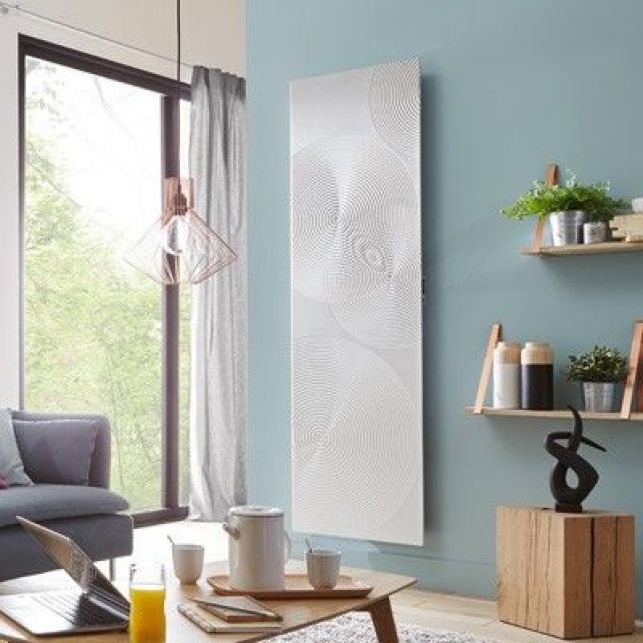 Ce radiateur décoratif en relief chauffera votre intérieur tout en douceur