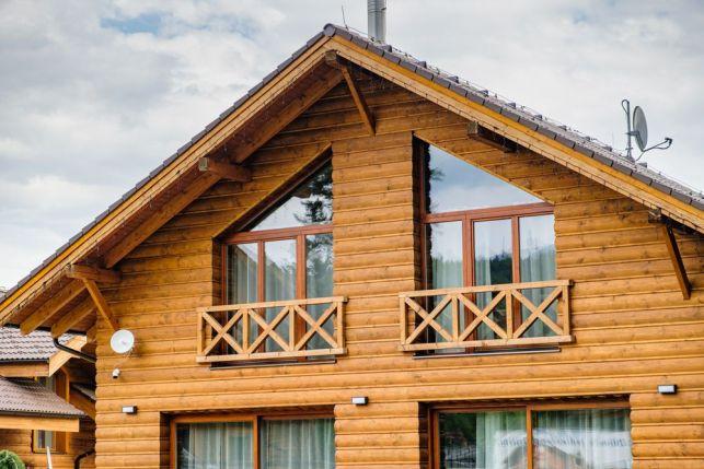 Isolation d'une maison en bois