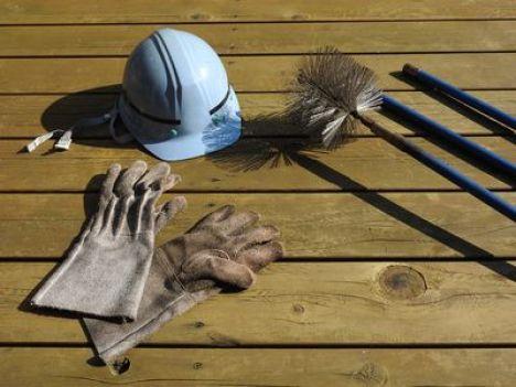 Kit de ramonage pour cheminée
