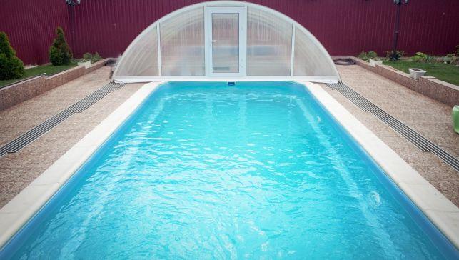 L'abri de piscine coulissant